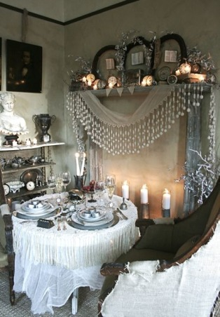 New Year's Eve - A Moment in Time, A Moment in Time. A temporary corner for a little romantic dinner for two on New Year's Eve.  , Holidays Design