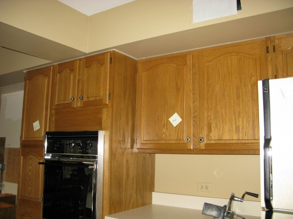 Dark and Gloomy to Bright and Open, French Country Kitchen Remodel.  Reposted as we made a few changes since the first post.  Great experience working with Kitchen Discounters of America in Lake Zurich, IL http://www.kitchen-discounters.com/ , Removed all soffits in the kitchen and rerouted some plumbing and electric that were in the soffits.    , Kitchens Design