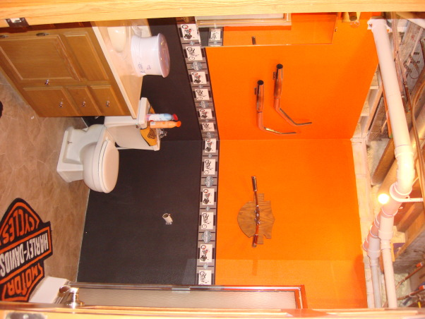 Pics Photos Harley Davidson Bathroom Kinda Small But A Good Size For. Harley  Davidson Bathroom