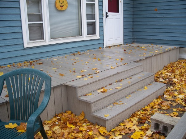 Do It Yourself Porch, Front porch built by homeowner on One leg., Front Stairs go on.  , Porches Design
