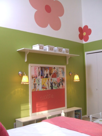 GO GO GIRLIE, Clients 4 yr old girls bedroom - 500.00 budget!  Hope you can see better with these photos!, got to http://kellikaufer.posterous.com/  see projects down for this room, Girls' Rooms Design