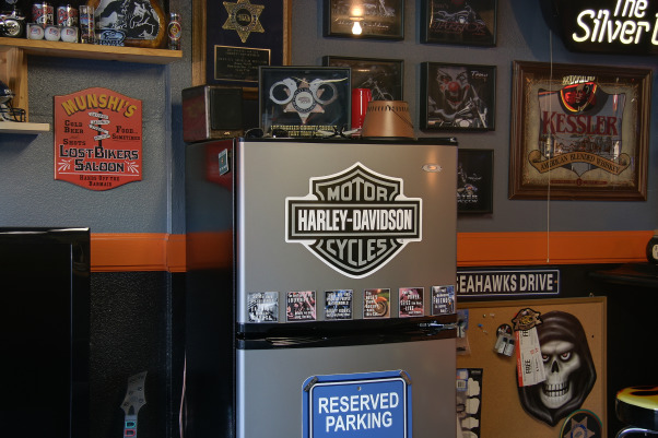 Updated Harley Garage  Mancave, Garages Design