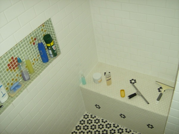 Renovation of 1930's Bathroom, 1930's Bathroom...out of date....upstairs bath..., Shower Bench...          , Bathrooms Design