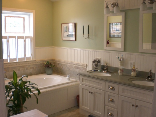Country Master Bathroom Ideas