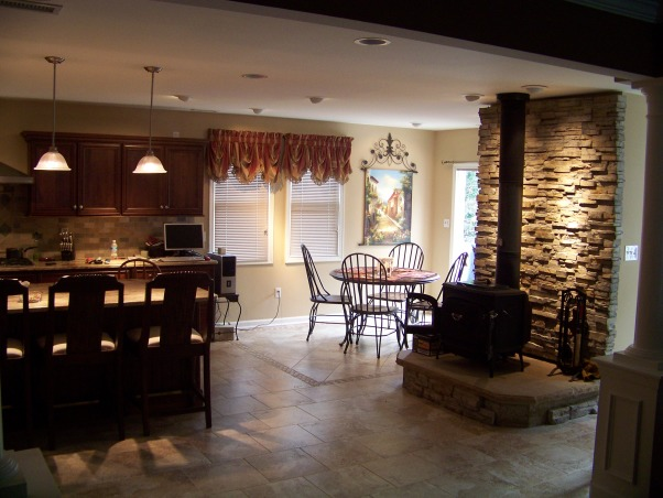 GREAT ROOM ! kitchen, This former rec room was turned into an elegant and charming 650 sq ft kitchen , the breakfast nook      , Kitchens Design
