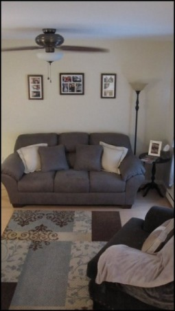 Teeny-Tiny Living Room, Before: Our living room  , Living Rooms Design
