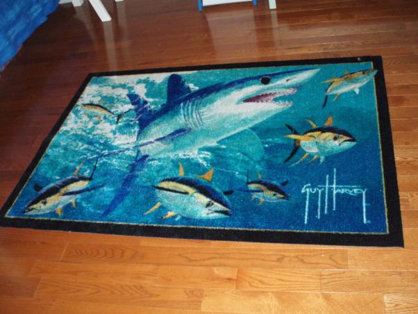 Ocean Bedroom, Fun, boys ocean themed bedroom, wall murals, bunkbeds, cool shark rug, coral reef and sea turtles, sharks and fish., Boys' Rooms Design