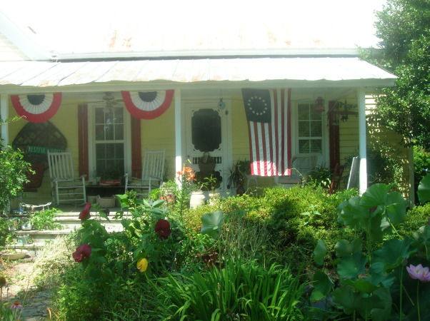 1880's farmhouse & gardens..., 4th of July, 1880's country farm house                                                                      , Gardens Design