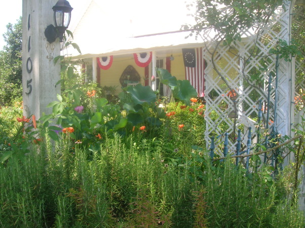 1880's farmhouse & gardens..., 4th of July, 4th of July                                                                      , Gardens Design