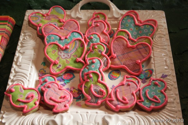 Easter Brunch Decor, Table settings for Easter Brunch, My sugar cookies. A tradition at the holidays, Holidays Design