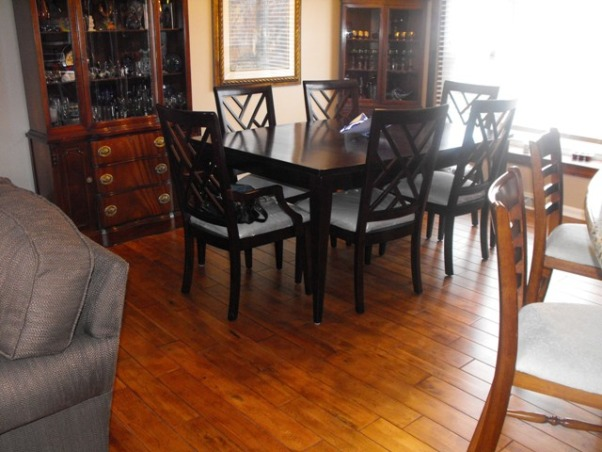 Split Foyer remodel, This is the dining room with the wall completely gone.              , Kitchens Design