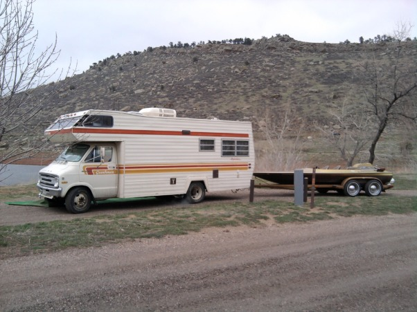 RV REMODEL, WE BOUGHT A 1977 DODGE RV CLASS C.IT HAD DARK WOOD AND ...