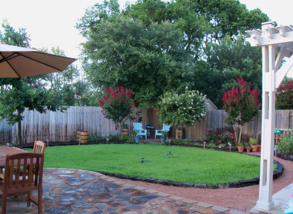 Information about rate my space questions for for Small backyard makeover ideas on a budget
