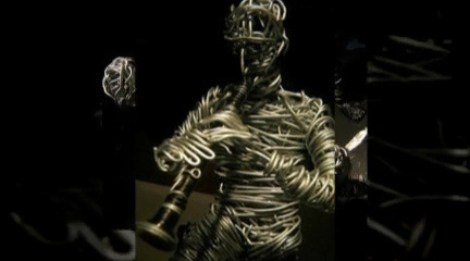 predsobje, my own videoclip whit some of my sculptures, Garages Design