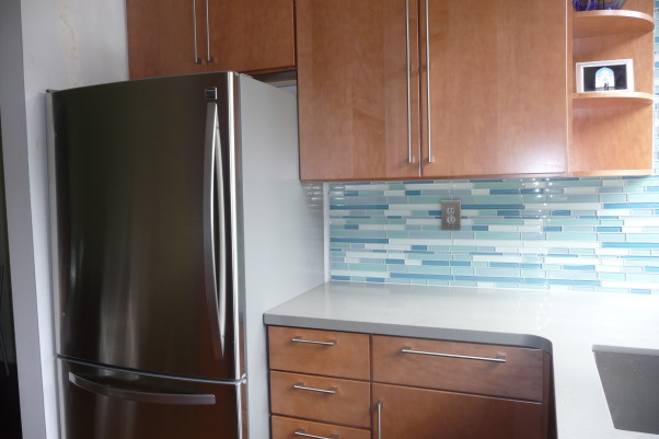 10 x 10 foot 1968 kitchen update, We just moved into our mid-century modern town house. It both good retro (lots of windows) and bad retro (pretty much all the kitchen). We renovated the kitchen top to bottom for under $20,000, including appliances, Kitchens Design