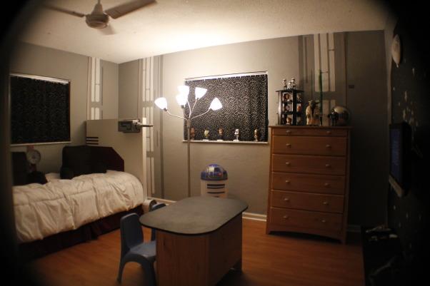 STAR WARS boys Room, this room was inspired by star wars hangers, Boys' Rooms Design