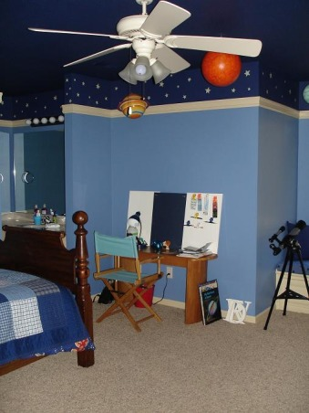 solar system room decor pics about space. Black Bedroom Furniture Sets. Home Design Ideas