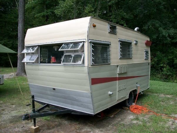 remodeled vintage camper, Trashed camper remodeled on a budget, Camper was totally trashed and needed to be updated.  , Other Spaces Design