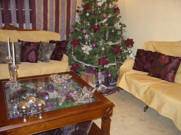 Silver and Purple Christmas, I wanted a change this Christmas but on Budget. So I decided to change just a few things on my Christmas decor, Christmas tree  , Holidays Design
