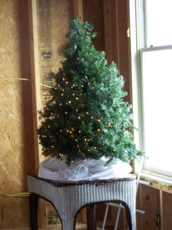 The Many Christmas Trees of Arbor House Lane, I enjoy decorating for Christmas and this includes a Christmas tree in almost every room in my home.  , I love even the simple trees.  Even our future master bedroom gets to be festive in a simple tree with white lights.  , Holidays Design