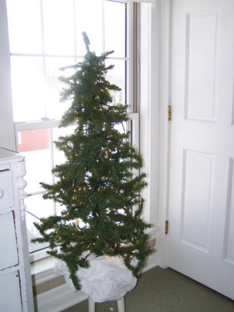 The Many Christmas Trees of Arbor House Lane, I enjoy decorating for Christmas and this includes a Christmas tree in almost every room in my home.  , Another simple tree with white lights in our master bedroom.   , Holidays Design