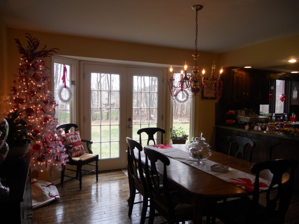 Candy Christmas Kitchen, Red and White for the Kitchen this year.  , Holidays Design