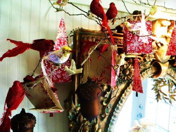 Simple Holiday Splender, Winter birds    , Holidays Design