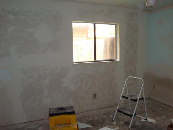 Guest Bedroom, Guest Bedroom Remodel, All puttied up!! , Bedrooms Design