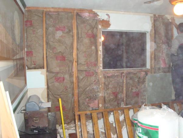 Guest Bedroom, Guest Bedroom Remodel, We had carpenter ants and had to re sheet rock , Bedrooms Design
