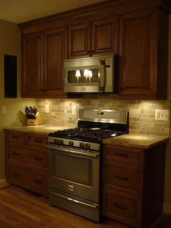 French County in the City, Two small rooms made into one., The back splash is subway quartz              , Kitchens Design