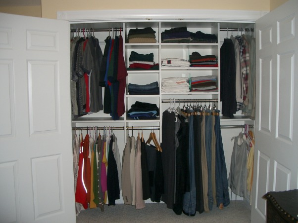 Information about rate my space questions for for Maximize small closet