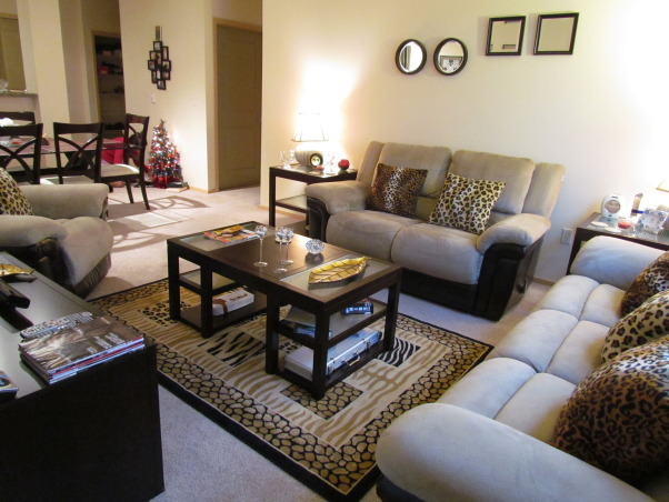 Information about rate my space questions for hgtv for Leopard print living room ideas