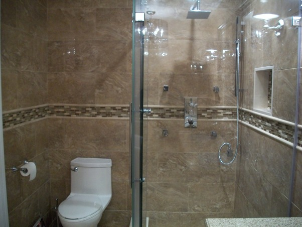complete bathroom makeover, I purchased 95% of my fixtures online. I went directly to the manufacturers' websites to get the best prices.inspiration from Candice Olson devine design bathroom makeovers,, one piece toilet so no gunk in between crevices           , Bathrooms Design