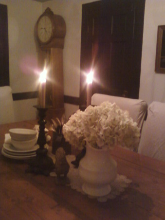 in progress.  farmhouse chic., country dining room, what do you think?, Dining Rooms Design
