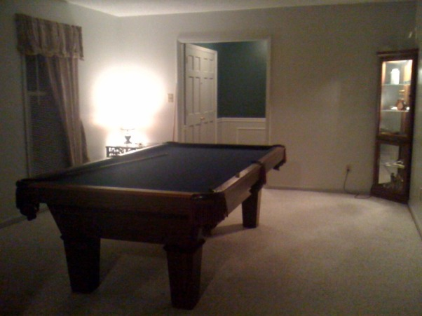 Game Room, poker room,, Poker and pool table rooms before and after. , Boys' Rooms Design