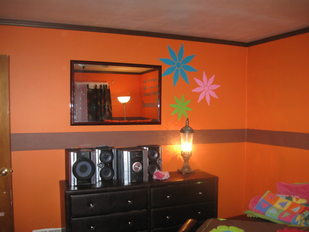 7 yr old girls room, Bold bright colors that my daughter loves, Girls' Rooms Design
