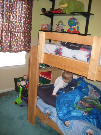Brothers share Bunks, The boys are sharing now and I may want to move them across the hall to the bigger bedroom....Need input., Second window in the room...., Boys' Rooms Design