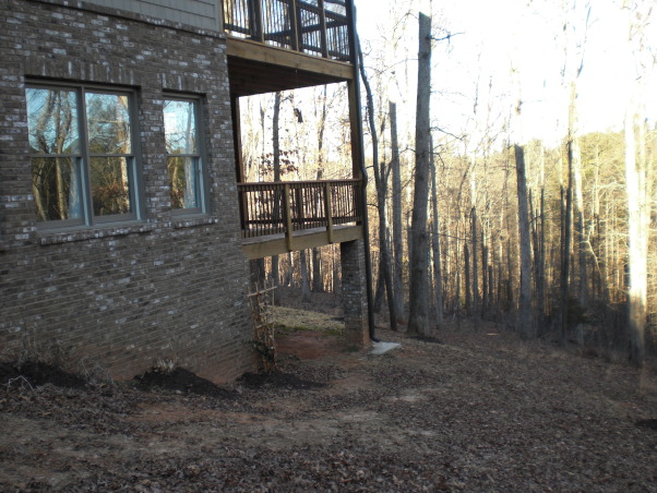 Backyard Disaster, Steep unused space that needs any help it can get., Yards Design