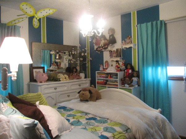 Tessa's new room, new updated and redecorated bedroom for my 10 year old big girl, bed and doll collections  , Girls' Rooms Design