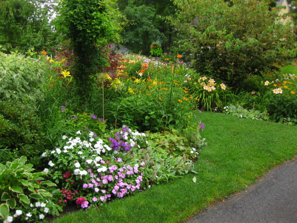 GARDEN IN THE RAIN, Back Yard Oasis, Gardens Design