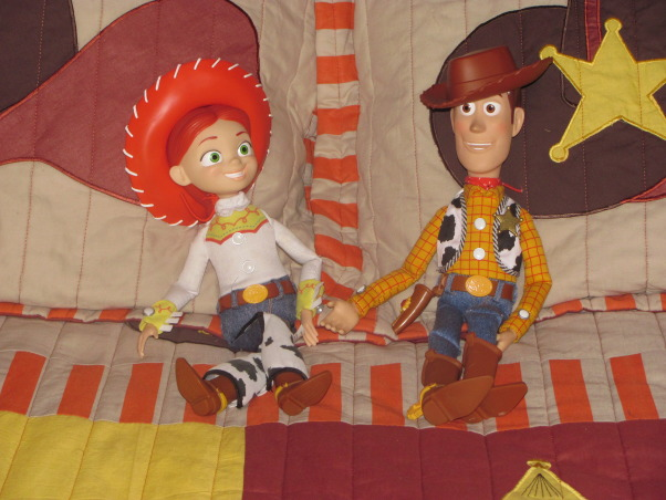 Western, Texas, Ranch Room, This is my 3 year old grandson's room. My house has a western/southwestern decor therefore a little buckaroo room is perfect for him., A cowboy room is just not complete without Woody and Jesse.      , Boys' Rooms Design