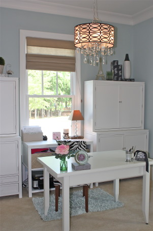 Elegant Home Office, Home office created for successful business woman., Home Offices Design