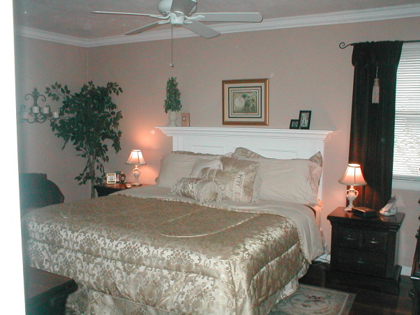 Repost:  Classic Master Bedroom, We wanted to create a classic, peaceful bedroom.  I had originally posted and used RMS viewer advice and made some changes - tried to warm up the space with paint., Before   , Bedrooms Design