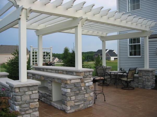 My Dream Patio, Outdoor patio, Bar / Pergola        , Patios & Decks Design