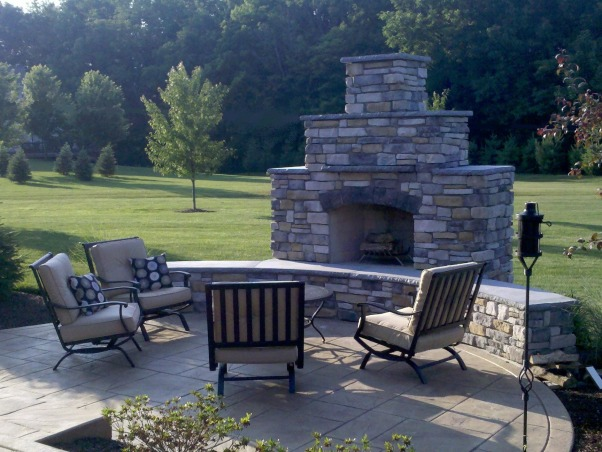 My Dream Patio, Outdoor patio, Newest addition to the patio, Outdoor Fireplace   , Patios & Decks Design