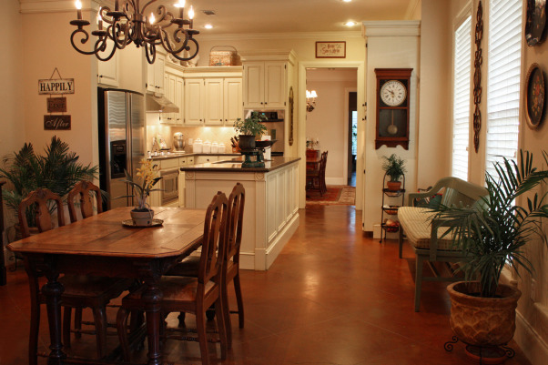 Classic Kitchen, Classic Traditional Kitchen and Breakfast Area, View of kitchen and breakfast area, Kitchens Design