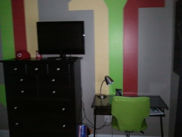 Teen Bedroom, Rasta Room, desk and chair, Boys' Rooms Design