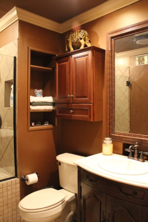 Information about rate my space questions for for Bathroom decor earth tones