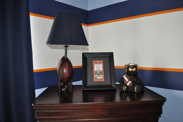 chicago bears nursery perfect room for your new bears fan nurseries
