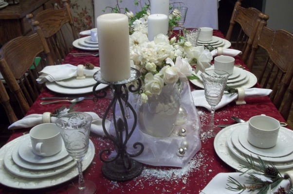 Holiday Tablescapes, Dining room in our farmhouse, Holidays Design